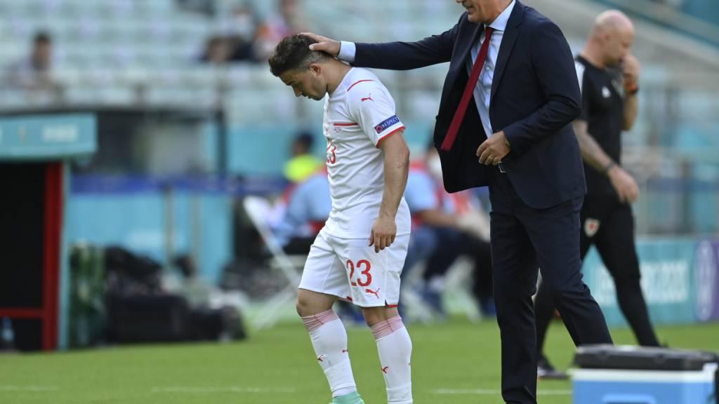 Enttäuschter Vladimir Petkovic nach dem Remis gegen Wales