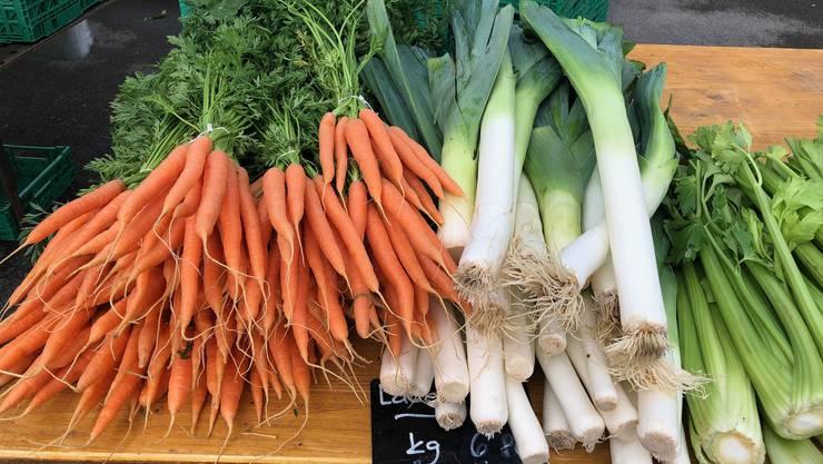 Wagen wir uns doch einfach an unser regional-saisonales Gemüse.