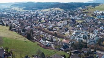 Eine Grenze ist im Siedlungsgebiet der beiden Erlinsbach schon lange nicht mehr ersichtlich.