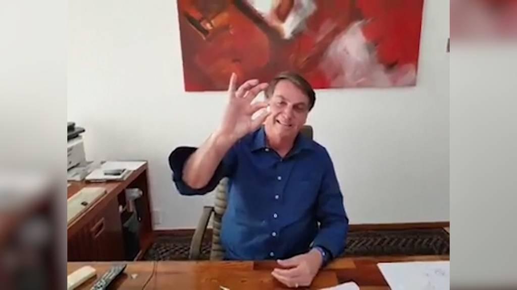 Brasiliens Präsident Bolsonaro positiv auf Coronavirus getestet