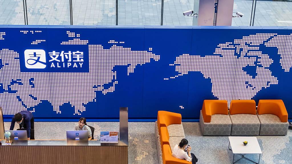 Alibaba-Ableger Ant peilt Rekord-Börsengang von 34,5 Mrd Dollar an