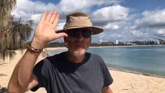 Chefredaktor Theodor Eckert wird pensioniert. Derzeit weilt er in Australien. Mit einer Videobotschaft verabschiedet er sich von den Leserinnen und Lesern.