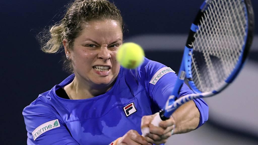 Kim Clijsters musste sich erneut geschlagen geben