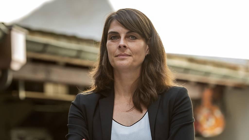 Könnte den Sprung in die Regierung im ersten Wahlgang schaffen: Stephanie Eymann (LDP).