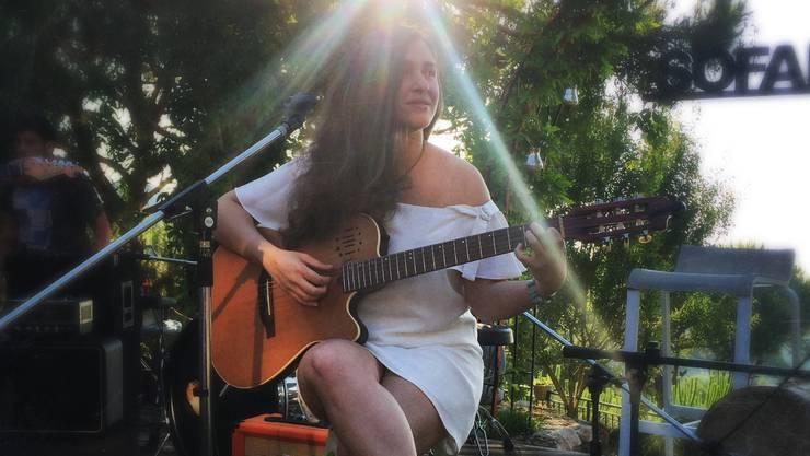 Von der Natur und ihrer Schönheit inspiriert: Die Sängerin Frida macht aus kleinen Geschichten grosse Songs.