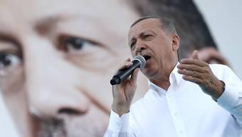 """""""Die Schritte führen die Welt zu einem neuen Kreuzzug"""": der türkische Präsident Recep Tayyip Erdogan über die angekündigte Zwangsschliessung von Moscheen in Österreich."""