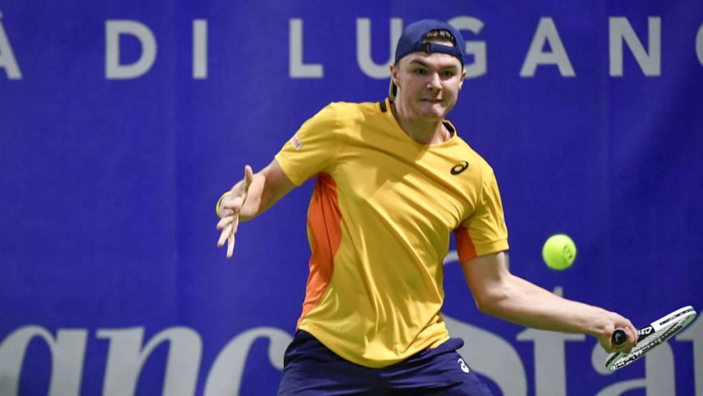 Dominic Stricker gibt dank einer Wildcard in Genf sein Debüt auf der ATP-Tour