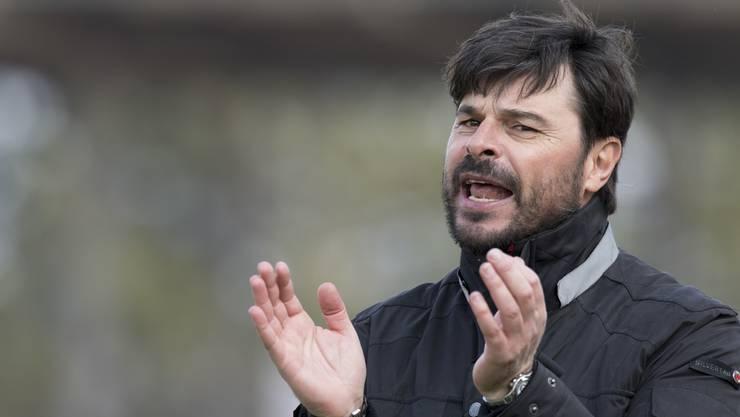 Wils neuer Trainer Ciriaco Sforza macht dem FC Aarau ein grosses Kompliment.