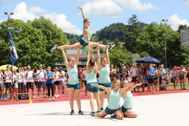 Team Aerobic TV Lenzburg.