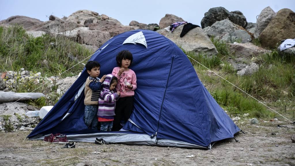 23 minderjährige Asylsuchende aus Griechenland in der Schweiz