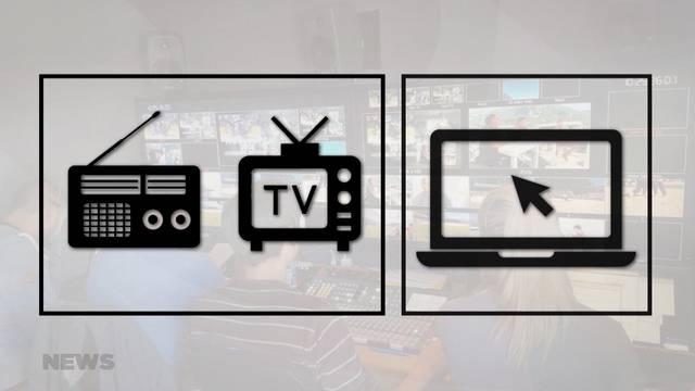Doris Leuthard präsentiert neues Mediengesetz