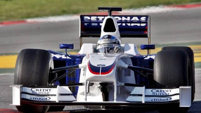 Nick Heidfeld fuhr auf dem Rundkurs in Manama total 104 Runden
