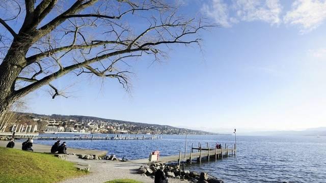 Hohe Standordqualität: Der Zürichsee bei Zürich (Archiv)