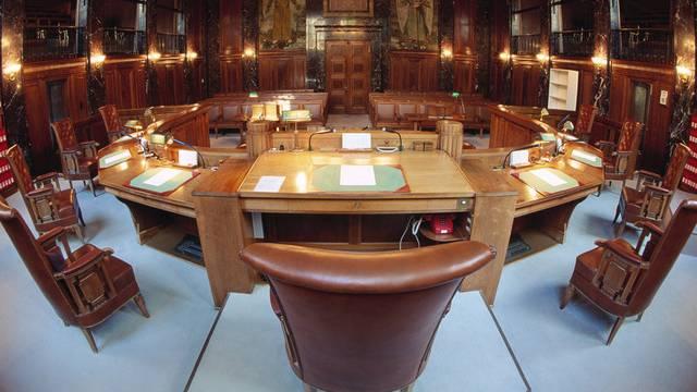 Gerichtssaal des Bundesgerichts (Symbolbild)
