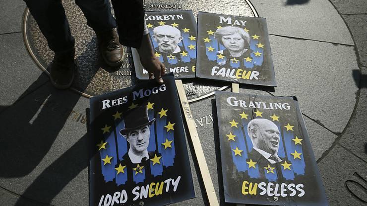 Das britische Unterhaus in London diskutierte am Montag erneut über mögliche Alternativen zum Brexit-Abkommen von Premierministerin Theresa May.