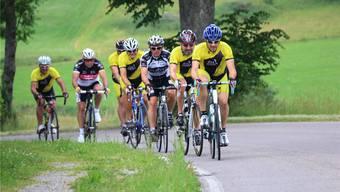 Viele Radsportler liessen sich die Schwarzwald-Rundfahrt nicht entgehen.
