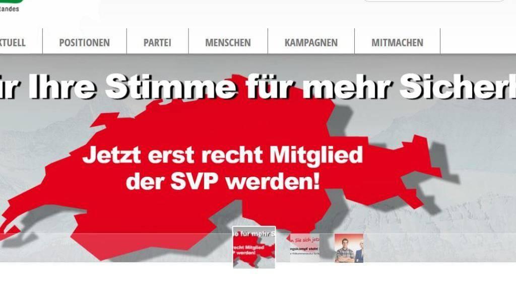 SVP-Datenbank gehackt: 50'000 Mailadressen und mehrere Mailinglisten der SVP Schweiz gelangten in Besitz der Hacker von NSHC. Was will die bis dahin unbekannte Gruppe?