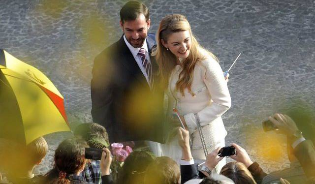 Frisch verheiratet: Luxemburgs Thronfolger Guillaume und Gräfin Stéphanie de Lannoy aus Belgien