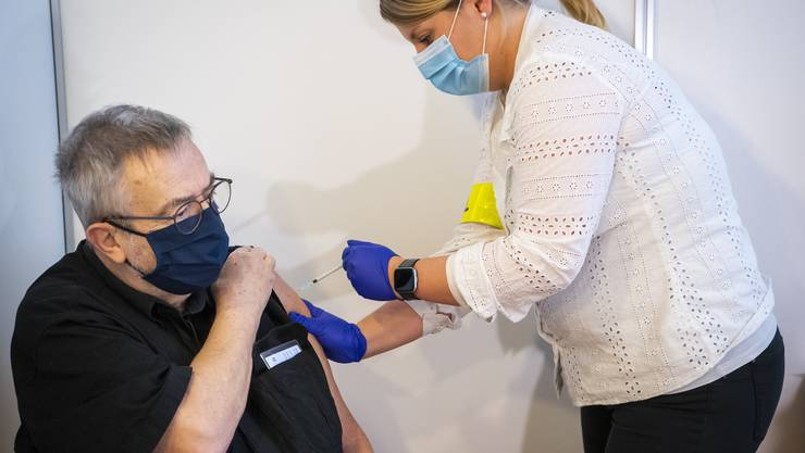 Impfung im Kanton Neuenburg: Ab dem 4. Januar sind auch die Zürcher an der Reihe.