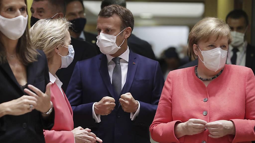 EU-Gipfel zum Coronavirus-Aufbauplan auf Samstag vertagt
