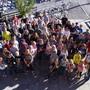 Die Lagergemeinschaft blickt dem Abschlusskonzert in Rickenbach entgegen.