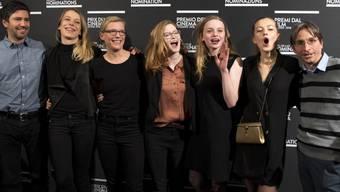 """Grosserfolg am Schweizer Filmpreis 2018: Drei der sieben Quartze, für die er an den diesjährigen Solothurner Filmtagen nominiert worden war, hat der Film """"Blue My Mind"""" von Lisa Brühlmann (Mitte) gewonnen. (Archivbild)"""