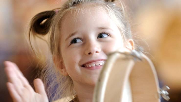 Nicht alle Kinder musizieren im Fach Musik tatsächlich.Thomas Lohnes/ddp