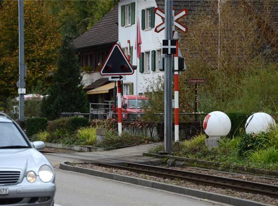 Diese drei Übergänge erhalten bald Barrieren: Gwaggenbrücke in Hölstein...