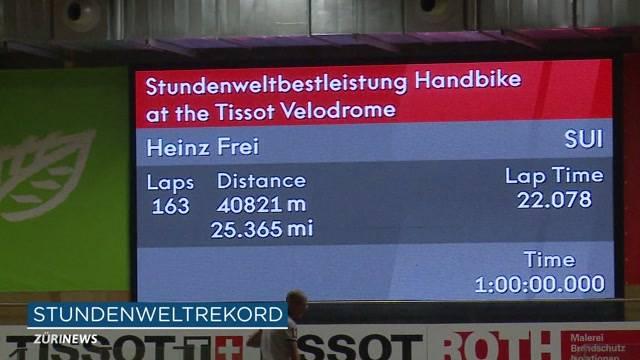 Mit 40 km/h zum Bike-Rekord