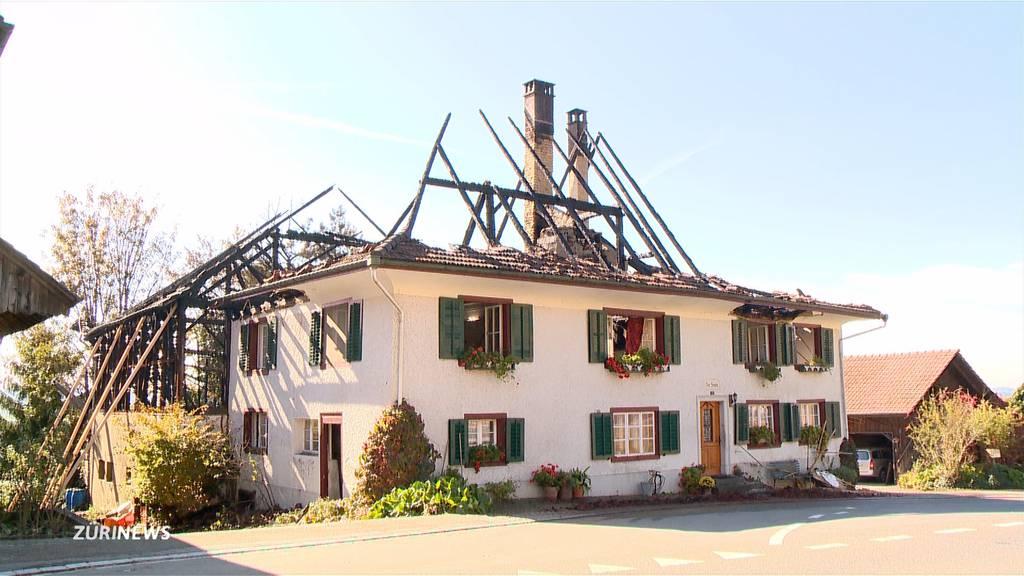 300-jähriges Riegelhaus in Oberneunforn zerstört