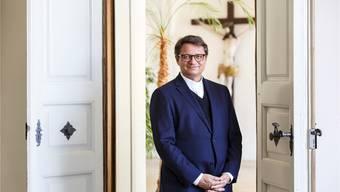Bischof Felix Gmür weiht den Pastoralraum in Döttingen ein. Bärtschi/Archiv