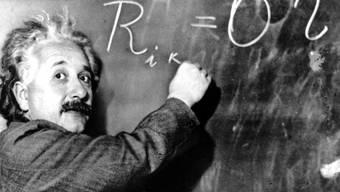 """Hatte einen guten """"Lauf"""": Albert Einstein verfasste 1905 innert weniger Monaten gleich drei Arbeiten, die die Physik revolutionierten. (Archivbild)"""