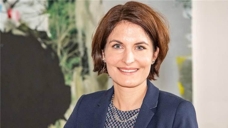 Landrätin, Parteichefin, baldiger Verbandsboss: Saskia Schenker.