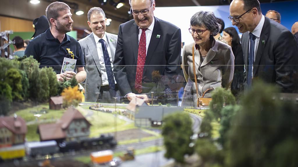 Olma in St. Gallen mit rund 220'000 Besucherinnen und Besuchern