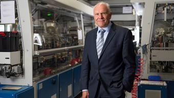 Swissmem-Chef Hans Hess erhofft sich, dass die Lohndifferenz zwischen der Schweiz und der Konkurrenz in China oder Osteuropa kleiner wird.