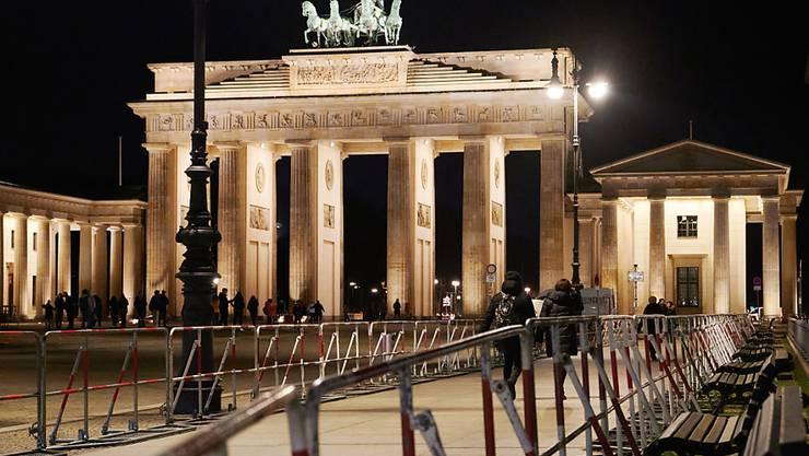 Die deutsche Wirtschaft hat stagniert: das Brandenburger Tor in Berlin (Archivbild).