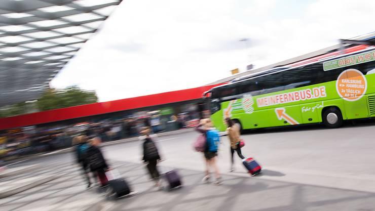 Flixbus will weiter expandieren und plant die Zusammenarbeit mit Fluggesellschaften. (Symbolbild)
