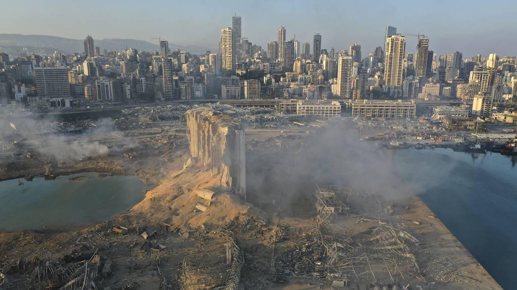 Explosion in Beirut fordert mindestens 100 Todesopfer