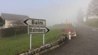 Von Günsberg aus ist es nicht mehr weit bis auf den Balmberg, wo bald 120 Asylbewerber ins Kurhaus ziehen sollen.