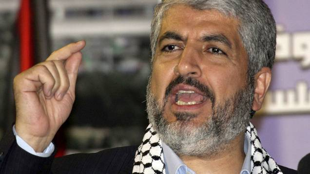 Hamas-Chef Chaled Maschaal (Archiv)