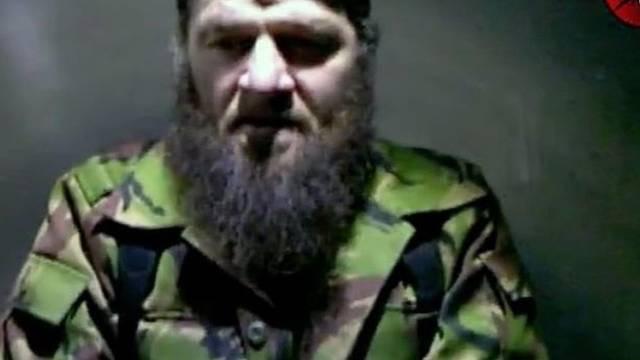 Doku Umarow bekennt sich am TV zum Anschlag in Moskau (Archiv)