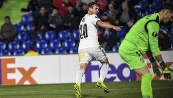 Der Torschütze zum so wichtigen 1:0-Siegtreffer des FC Basel bei Getafe: Fabian Frei.