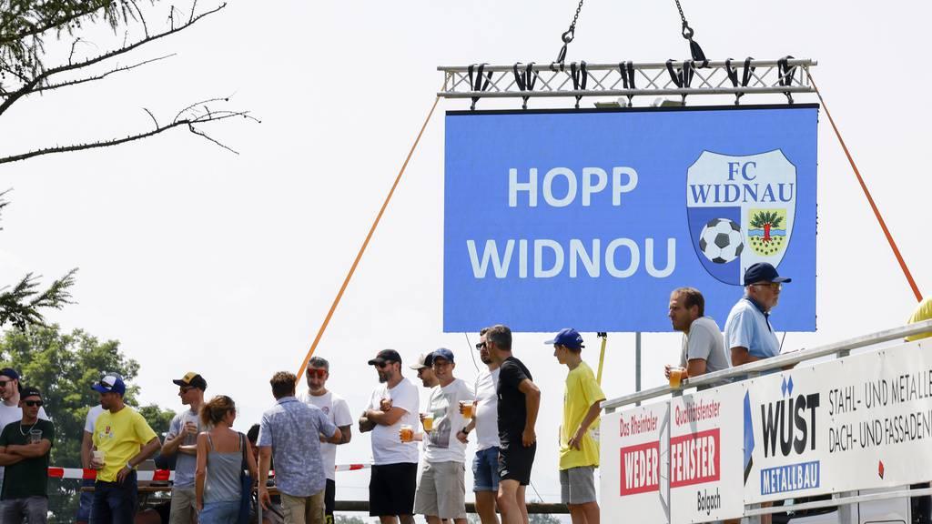 Cupspiel in Widnau: «Wir haben uns gut gemetzget»