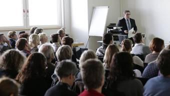 Gestern sah sich Wüthrich vor den Lehrern viel Kritik ausgesetzt.