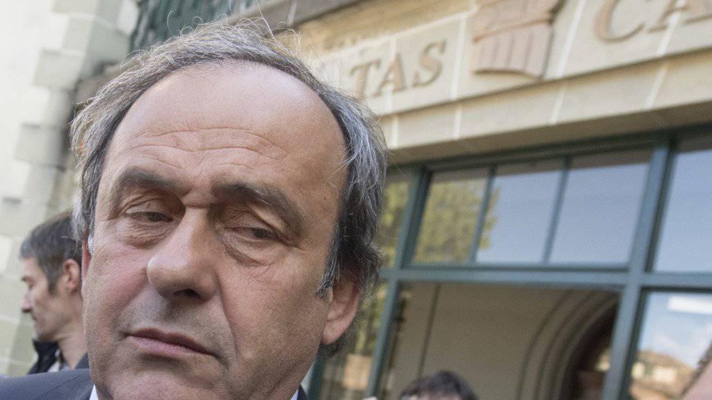 Das Bundesgericht hat den Schiedsspruch des Sportschiedsgerichts in Lausanne gegen den ehemaligen UEFA-Präsidenten Michel Platini bestätigt. (Archivbild)