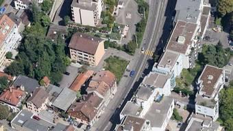 Der Unfall ereignete sich auf der Hauptstrasse in Binningen.