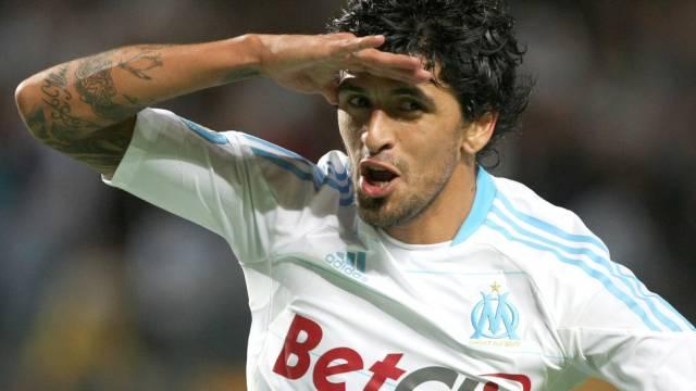 Marseilles Lucho Gonzalez traf zum vorentscheidenden 2:1