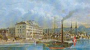 Ein historischer Rückblick des Hotel Schweizerhof Luzern
