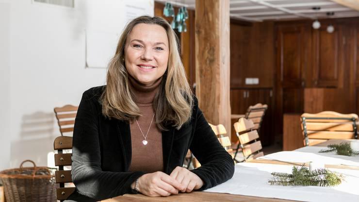Vor zwei Jahren trat sie der CVP bei und in diesem Jahr übernahm die 50-Jährige das Präsidium der Ortspartei Birmensdorf-Aesch.