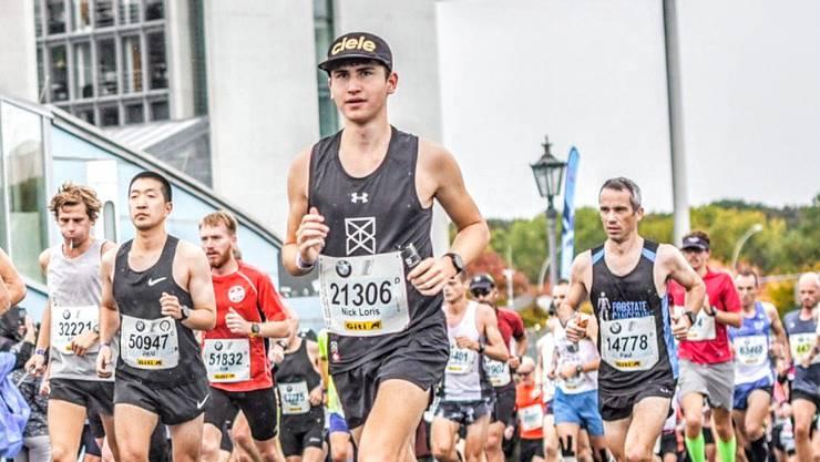 Nick Gutmann am Berlin-Marathon
